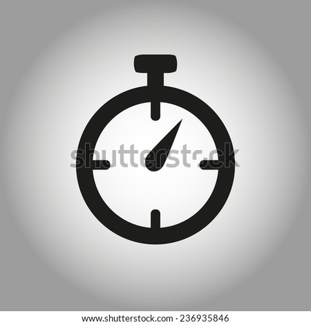 timer icon - stock vector