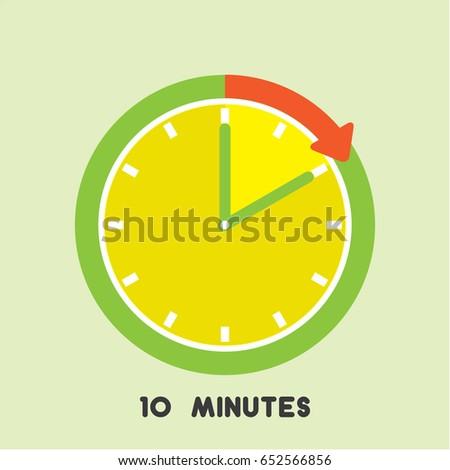 set 10 minutes timer
