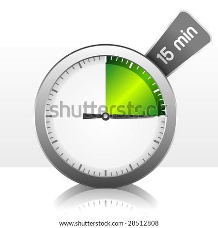 Timer. Vector Illustration - stock vector
