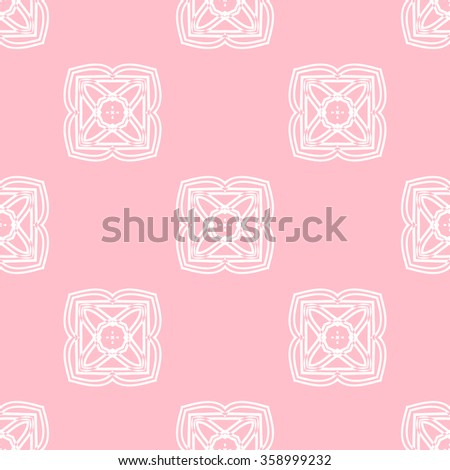 Tints of Pink Seamless pattern, Abstract Seamless pattern, Vector Seamless pattern. Repeating geometric, Seamless floral pattern. - stock vector