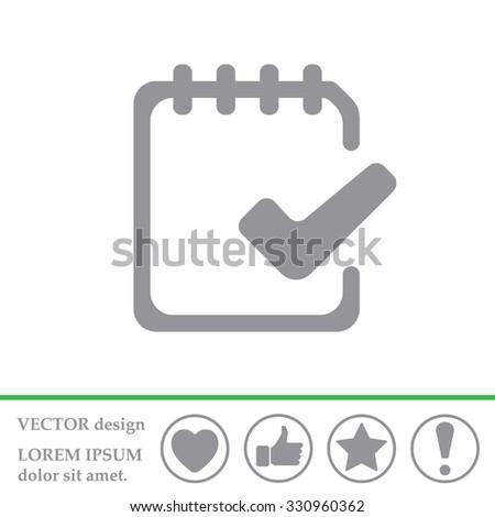 To-Do Icon - stock vector