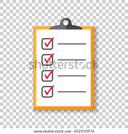 Do List Icon Checklist Task List Stock Vector 602427650 - Shutterstock