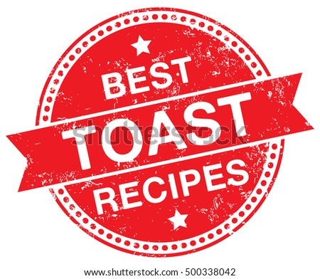 Toast Recipes stamp