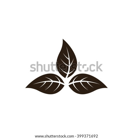 Tobacco leaves - stock vector