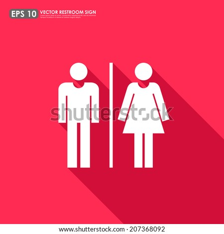 restroom sign stock images, royalty-free images & vectors