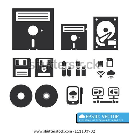 tool computer web icons vector - stock vector