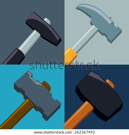 Tools design over colorful background, vector illustration.
