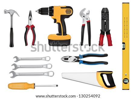 Tools vector illustration - stock vector