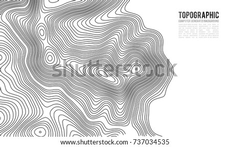 Topographic map contour background topo map stock vector hd royalty topographic map contour background topo map with elevation contour map vector geographic world gumiabroncs Images