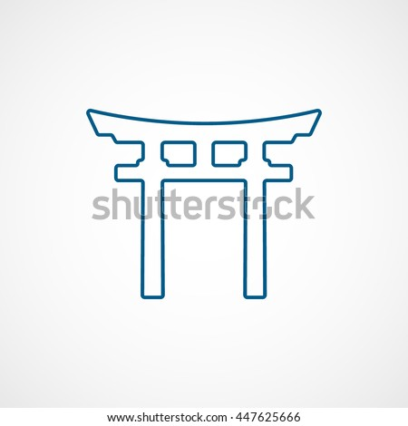 Torii Gate Stock Vectors & Vector Clip Art | Shutterstock