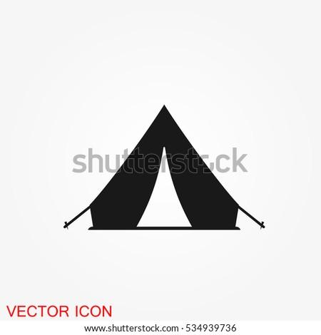 Tent Vector Icon | www.pixshark.com - Images Galleries ...