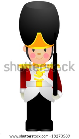 Toy Soldier - Vector