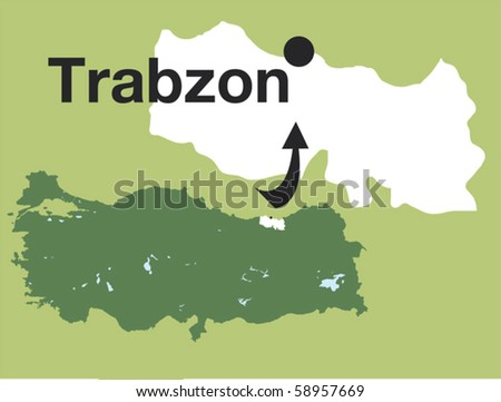 Trabzon. The cities of Turkey.