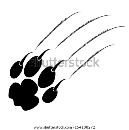 Panther claw mark logo - photo#21