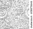 tracery seamless pattern....
