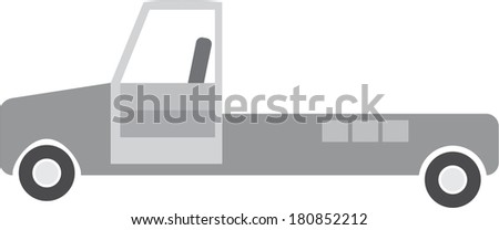 track - stock vector