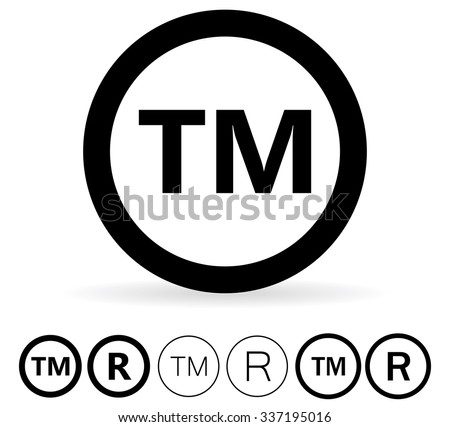 Trademark Symbol - stock vector