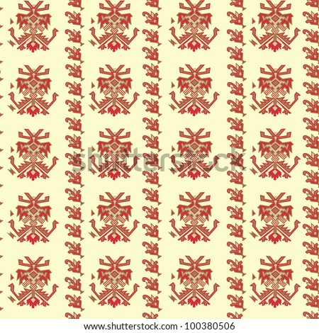 Traditional background. Vector - stock vector