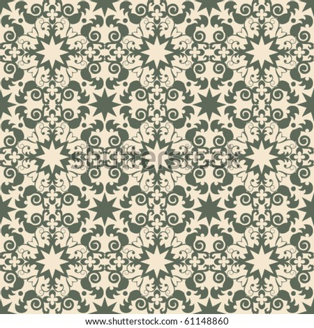 traditional decorative repeating pattern