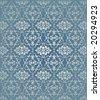 Traditional ottoman turkish seamless tile design - stock photo