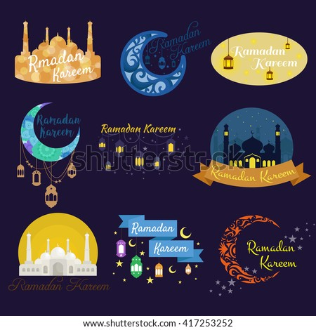 Traditional ramadan kareem month celebration greeting stock vector traditional ramadan kareem month celebration greeting card design holy muslim culture islamic religion mubarak m4hsunfo