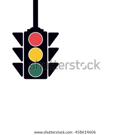 Traffic Light, Vector Illustration