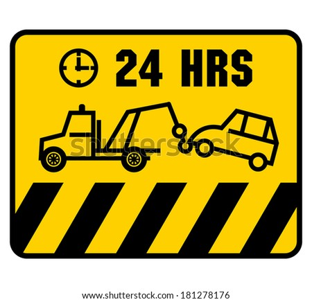 Traffic sign - no parking, vector illustration - stock vector