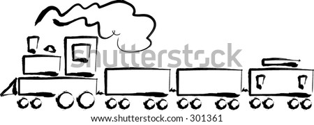 Train. - stock vector