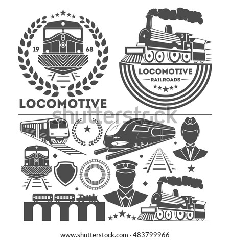 25 Best Train Company Logos amp Designs for Download
