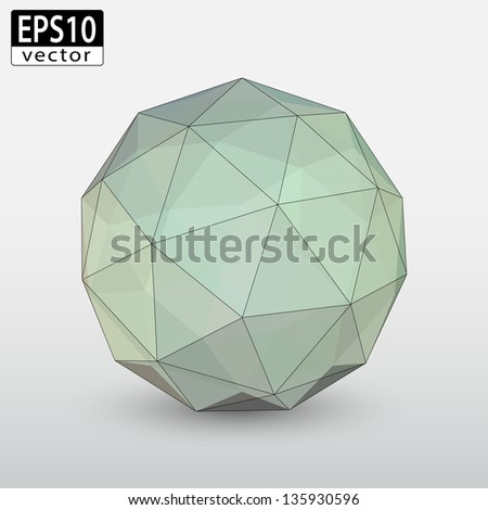 Transparent Sphere | EPS10 Vector - stock vector