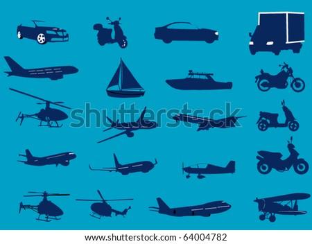 Transportation - stock vector