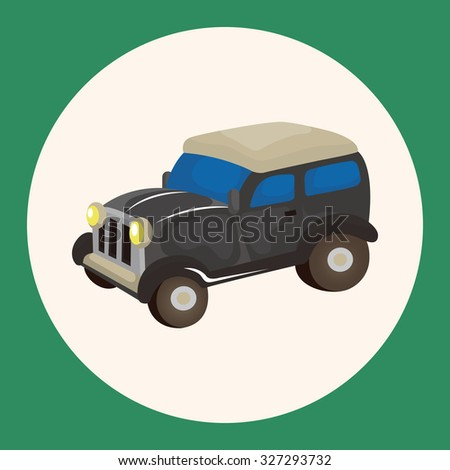 transportation car theme elements