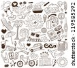 travel - doodles collection - stock vector