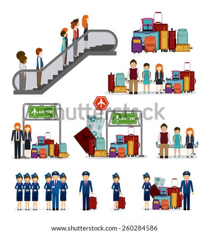 Travel icon design, vector illustration over white background - stock vector