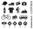 Travel icons set4. vector eps 10 - stock vector