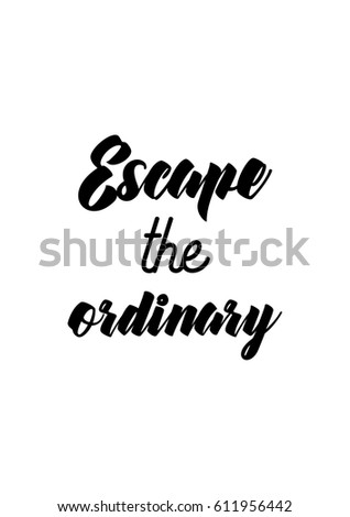 Travel Life Style Inspiration Quotes Lettering Stock ...