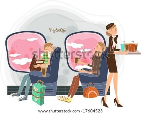 Travel Worldwide - stock vector
