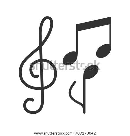 music notes border stock vector 692675395   shutterstock