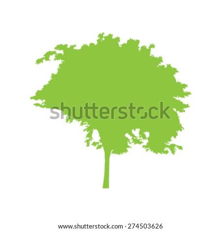 Tree background - stock vector