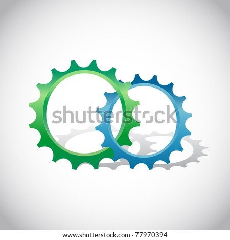 Tree Icon,  good for ecological logotype - stock vector