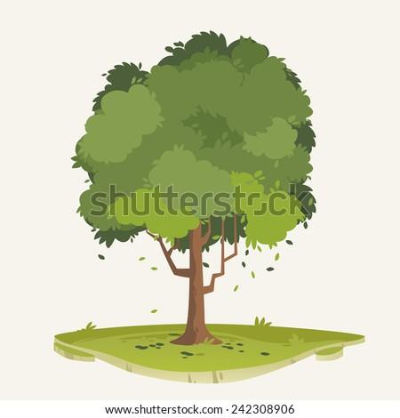 Tree Illustration - stock vector