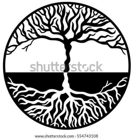 tree life vector stock photo photo vector illustration 554743108 rh shutterstock com tree of life vector download tree of life vector free download