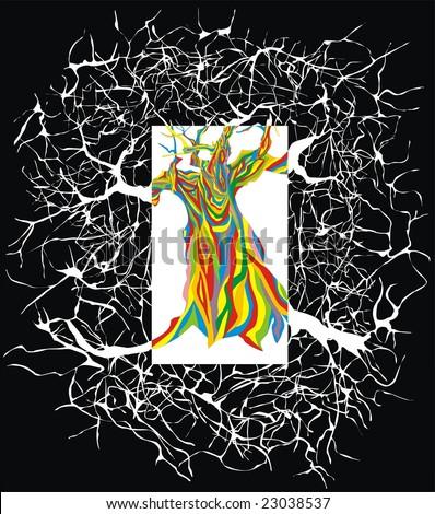 tree of the Reason - stock vector