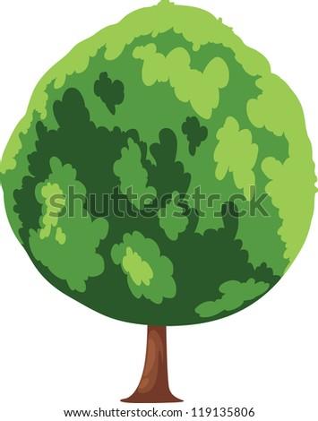 Tree vector - stock vector