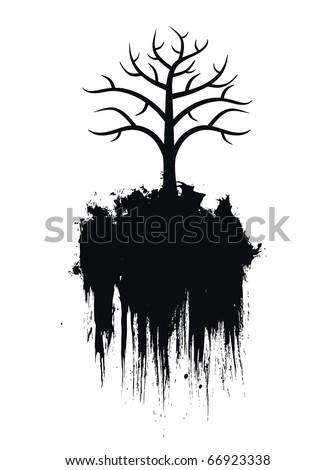 Tree (vector) - stock vector