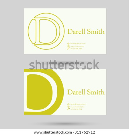 Trendy business card template letter d stock vector hd royalty free trendy business card template letter d stock vector hd royalty free 311762912 shutterstock thecheapjerseys Gallery