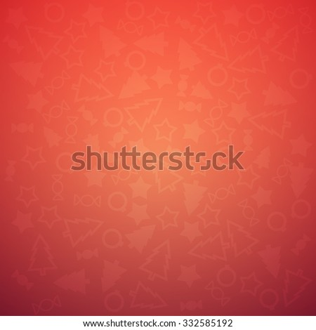 Trendy Colorful Christmas Background Pattern Vector illustration - stock vector