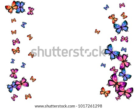 Trendy decorative butterfly silhouette kite backdrop stock vector trendy decorative butterfly silhouette kite backdrop border on white spring butterfly hover theme vector in voltagebd Image collections