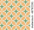 Trendy Square Pattern; vector - stock vector
