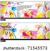 Tri fold brochure business cover design template.  editable Vector Illustration - stock vector